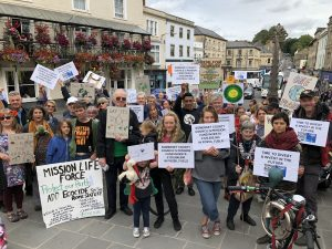 Rise for Climate demo, 8th Sept. 2018